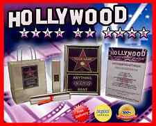 STAR DI HOLLYWOOD Oscar Film FESTA Gold PREMIO COMPLETAMENTE PERSONALIZZABILE