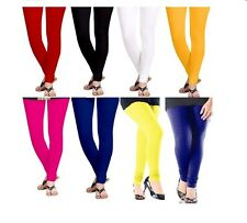 Timbre Cotton Lycra Women Chudidar Leggings Combo Pack Of 8