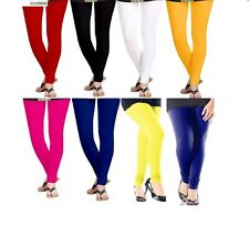 Ladies Churidar Leggings Combo Pack of 8 Cotton Lycra Leggings