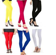 Timbre Pack of 6 Cotton Lycra Leggings For Women