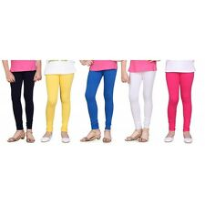 Timbre Leggings For Women Combo Of 5 Cotton Lycra Churidar Leggings