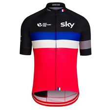 Rapha Team Sky France Country Cycling Jersey Sizes Medium & Large BNWT  *RARE*