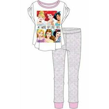 Ladies Official Disney Princess Pajamas Set