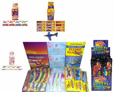 Super Hero/Dinosaur/ Fairy/WWII Flying Glider Planes Ideal Party Bag Fillers