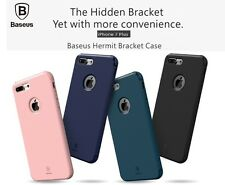 """BASEUS Hermit Bracket Cross Pattern TPU back Case Cover For iPhone 7 Plus 5.5"""""""