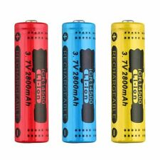 2/1x 14500 3.7V 2800mAh Rechargeable Li-ion Battery for LED Torch Flashlight SY