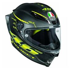 PROJECT 46 VR46 2017 PISTA GP-R FULL CARBON VALE ROSSI AGV PISTA CRASH HELMET