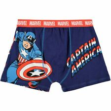 MENS MARVEL COMICS CAPTAIN AMERICA BOXERS BOXER SHORTS UNDERWEAR TRUNKS PANTS