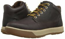 Men's Timberland TENMILE CHUKKA BOOTS, TB0A18ZK Sizes 8.5-14 Dark Brown Lea
