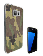 2244 Army Scene Soldier Case Cover For Samsung Galaxy J3 J5 A3 A5 S6 S7 Edge