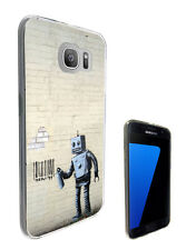 2270 Banksy Graffiti Art Case Cover For Samsung Galaxy J3 J5 A3 A5 S6 S7 Edge