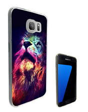 2366 Great Lion Case Cover For Samsung Galaxy J3 J5 A3 A5 S6 S7 Edge
