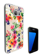 2460 Floral Vintage Shabby Case Cover For Samsung Galaxy J3 J5 A3 A5 S6 S7 Edge