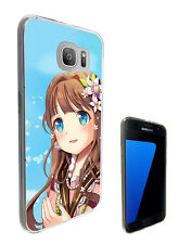 2546 Sexy Manga Girl Case Cover For Samsung Galaxy J3 J5 A3 A5 S6 S7 Edge