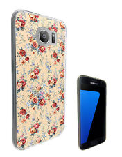 2596 Shabby Chic Rose Case Cover For Samsung Galaxy J3 J5 A3 A5 S6 S7 Edge