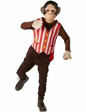 Child Mr Monkey Chimp Ape Kids Animal Zoo Funny Fancy Dress Costume