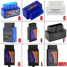 Scanner de interface de auto diagnostico ELM327 OBD2 Bluetooth WIFI V2.1 BY