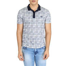 EASIES Men's Multicolor Checkered T-Shirts (ETS-491 THREADS HSPLNKCR IRSHUE)