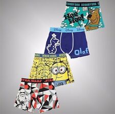 Infant Boys Character Print Single Boxer Shorts Stretchy Underwear Size Age 2-6