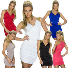 Women'S Mini dress Sequins Cocktail S M 34 36 Party Club sexy top