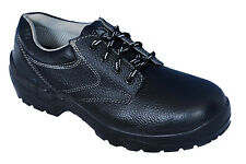 Bata Brand Mens Black Safety Shoes Steel Toe/Oil/ Acid/Restiant 6038