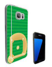 2666 Baseball Field Case Cover For Samsung Galaxy J3 J5 A3 A5 S6 S7 Edge