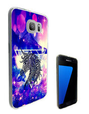 2733 Aztec Unicorn Galaxy Case Cover For Samsung Galaxy J3 J5 A3 A5 S6 S7 Edge