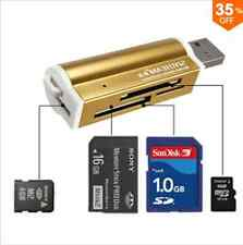 USB All in 1 Multi Memory Card Reader for Micro SD MMC SDHC TF M2