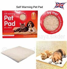 Winter SELF Heating THERMAL Dog Cat Puppy Pad BED Rug washable Warm Mat 64x49cm