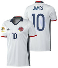 ADIDAS JAMES RODRIGUEZ COLOMBIA AUTHENTIC HOME JERSEY COPA AMERICA 2016 PATCH.