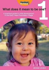 What Does it Mean to be One?, Jennie Lindon, Acceptable, Paperback childcare £3