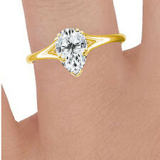 Silver Dew Solitaire Pleasing Ring In 925 Sterling Silver For Ladies To Gift