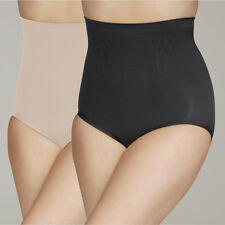 Your Secret Control Shapewear High Waist Pants - 1 Nude & 1 Black Sml to XXL