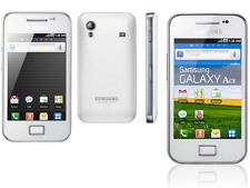 Refurbished Samsung Galaxy Ace GT- S5830 Black White Unlocked Android Smartphone