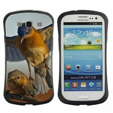 Anti-Drop Shockproof Heavy Duty Case For Samsung Eastern Blue birds attack