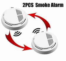 1/2pcs FIRE SMOKE Alarm Tester Sensor Detector Home Security System Cordless BY