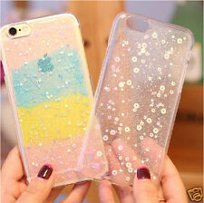 Luxury Case for Apple iPhone 6 4.7 Soft Silicone Star Back Cover Rainbow color