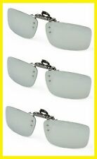 New Clip-On Flip-Up Aviator Driving Sunglasses Imported Day Vision Polarized