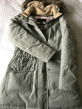 Barbour Kirkby Coat Silver Ice UK 16