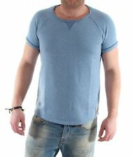 Scotch & Soda Manica corta girocollo sportivo blue