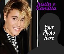 Custom Justin Bieber T shirt / Item with your Photo! Beaver Beiber Beibs