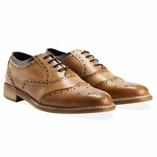 Goodwin smith Newline brogue shoes in genuine leather export surplus stocklot