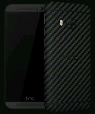 Dbrand HTC One M9 ,Black Carbon Fiber, Black Matte Skin back only