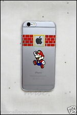 Cartoon Hard Cases for Apple iPhone 6 and 6S only. Mild Matte Finish! Mario!