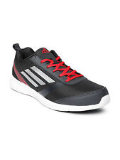 Adidas Brand Mens Adiray Grey Red  Running Sports Shoes