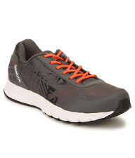 Reebok Mens Original Run Voyager Grey Orange Casual Sports Shoes