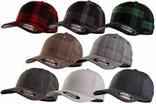 Flexfit ORIGINALE Casquette Baseball plaid tartan Glen Check Motif à carreaux