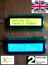 Serial IIC/I2C/TWI 1602 16x2 LCD Display Module for Arduino Raspberry PI