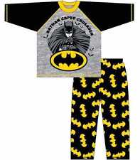 Official DC Comics Batman Character Boys Kids Pyjamas PJs Age Size 4 to 10 Years