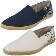 Uomo Base London Scarpe di tela Mocassini Espadrillas Ananas